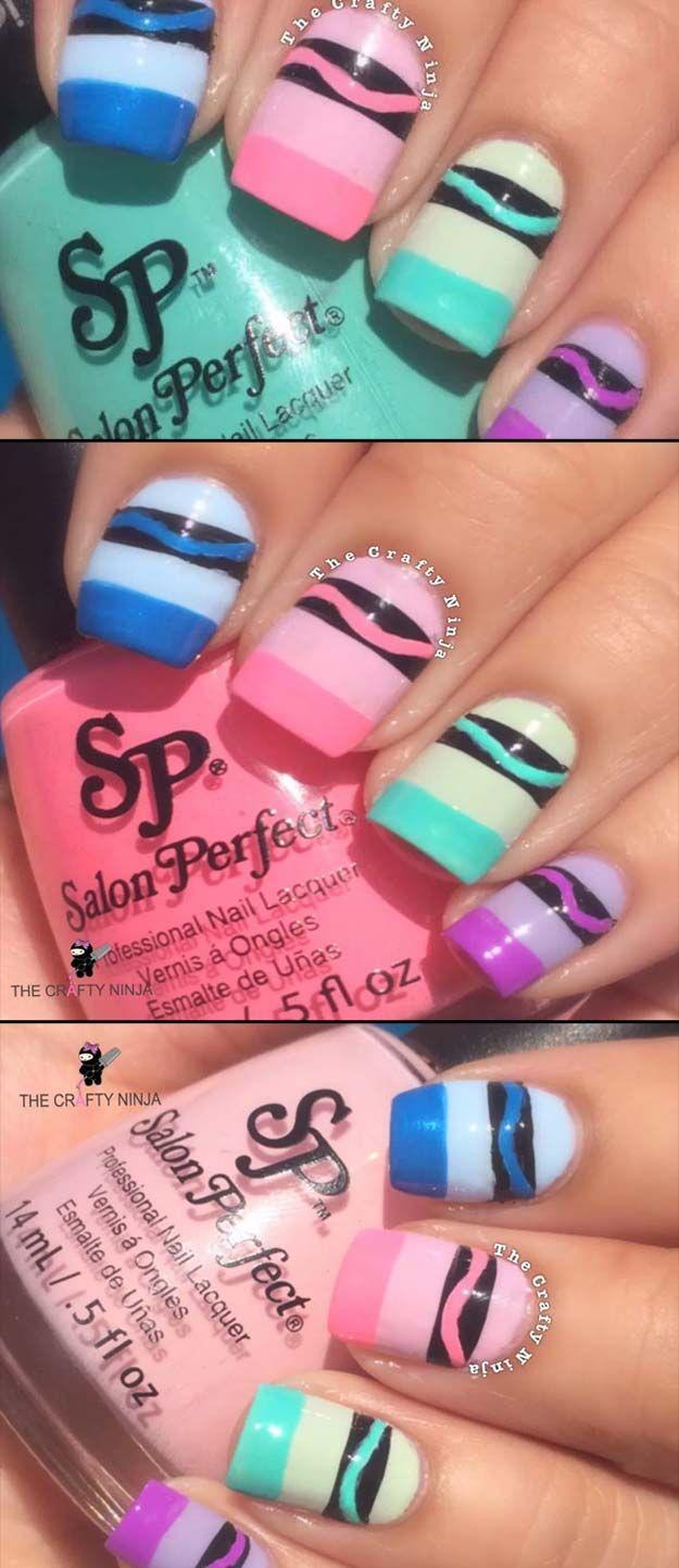 Fashion week Nail cute designs for teens for woman