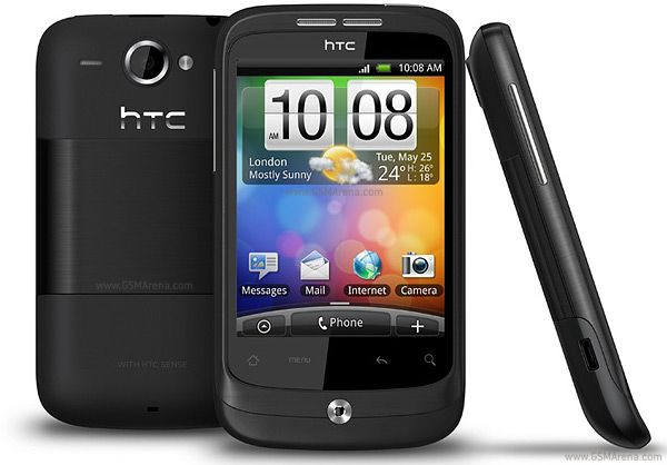 HTC Wildfire - My first android device. Introduced me to the touchscreen world.