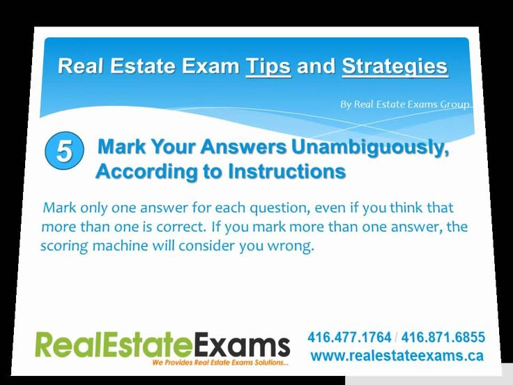 Real estate study aid
