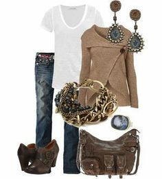 Great fall outfit...don't like the purse though