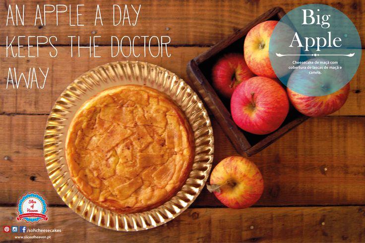 Cheesecake de Maçã e Canela  |  Apple & Cinnamon Cheesecake