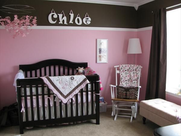 302 best pink and brown rooms images on pinterest | babies nursery
