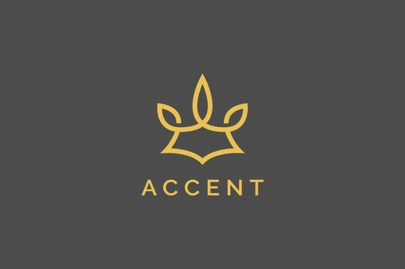 Abstract ornament logo icon vector by Woo Graphics on @creativemarket