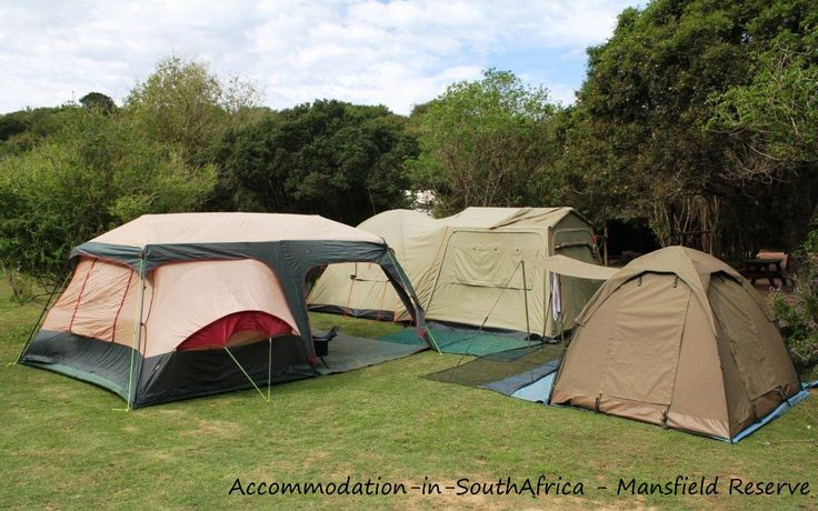 Mansfield Reserve Port Alfred. Camping at Mansfield Reserve.