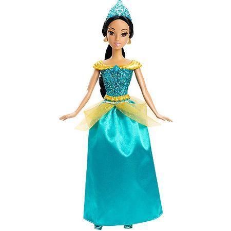 Disney Princess Sparkle Princess Jasmine Doll