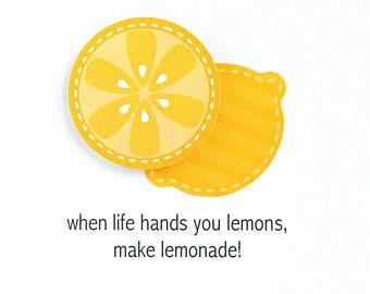 Lemon puns | Etsy