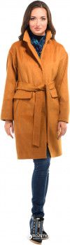 Пальто Milhan 1733 36 Темная горчица (2000000030883)