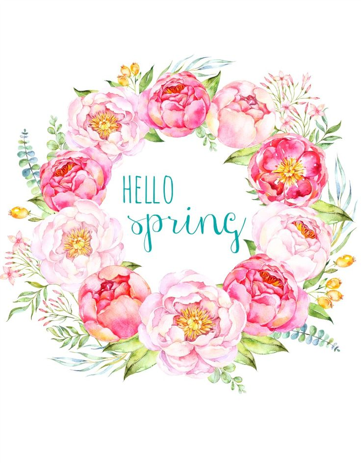 Free Printable Spring Peony Art & Easter Art - The Happy Housie