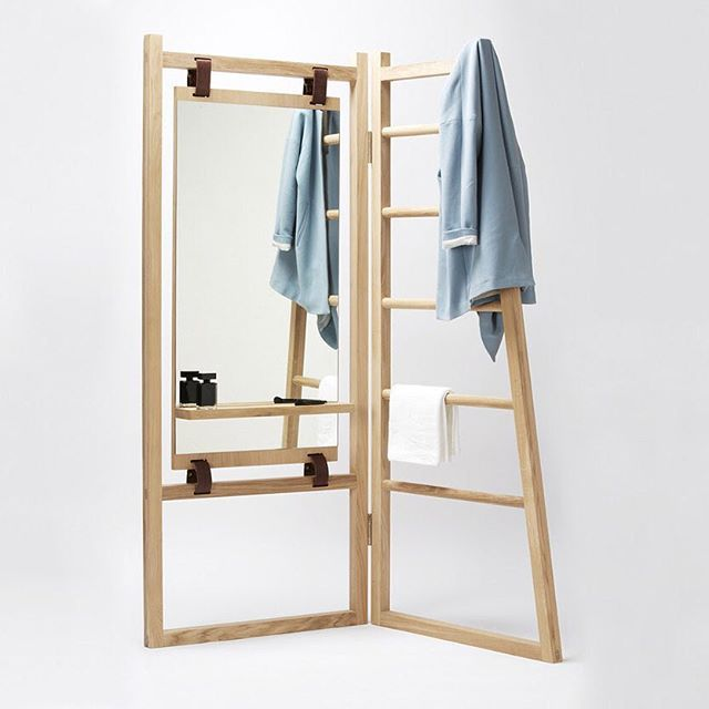 "soudasouda: ""@SoudaBrooklyn / @moco_loco: A Maison & Objet 2015 preview of 'Le Valet', from the makers of the n°1 satchel http://buff.ly/1Jkr9BV @la_fonction #wood #valet Posted by SoudaSouda Follow..."