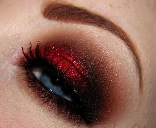 Sultry Valentine by chrisjhn-- This is literally how Breanna did my makeup for Morp last year.