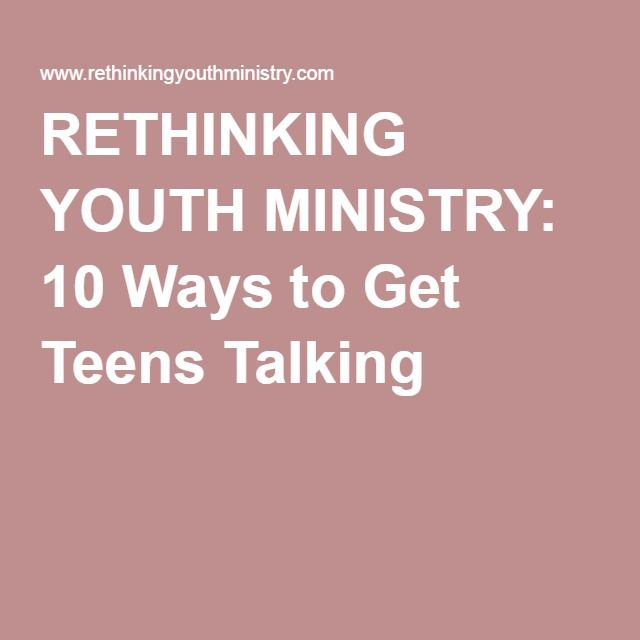 Dating youth group lesson