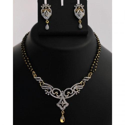 Enthralling Mangalsutra Necklace Set