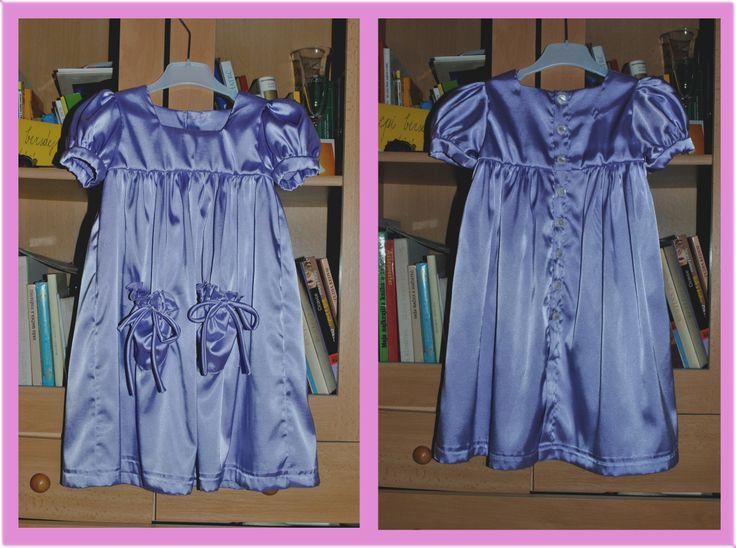 violet little dress