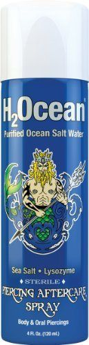 H2Ocean Piercing Aftercare Spray, 4 Fluid Ounce - http://www.yourdreamtattoos.com/h2ocean-piercing-aftercare-spray-4-fluid-ounce/?utm_source=PN&utm_medium=http%3A%2F%2Fwww.pinterest.com%2Fpin%2F368450813235896433&utm_campaign=SNAP%2Bfrom%2BYour+Dream+Tattoo