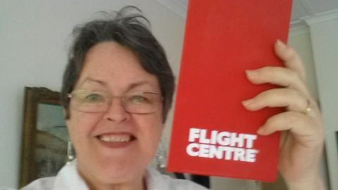On my way to the UK! Photo by: Karin Hagen Stewart