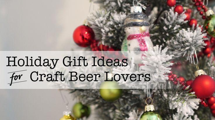Craft Beer Themed Gift Ideas - various online stores featured #beer #craftbeer #party #beerporn #instabeer #beerstagram #beergeek #beergasm #drinklocal #beertography