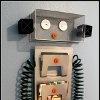 Robot Magazine Storage | So cute for a boy's room - FaveCrafts.com