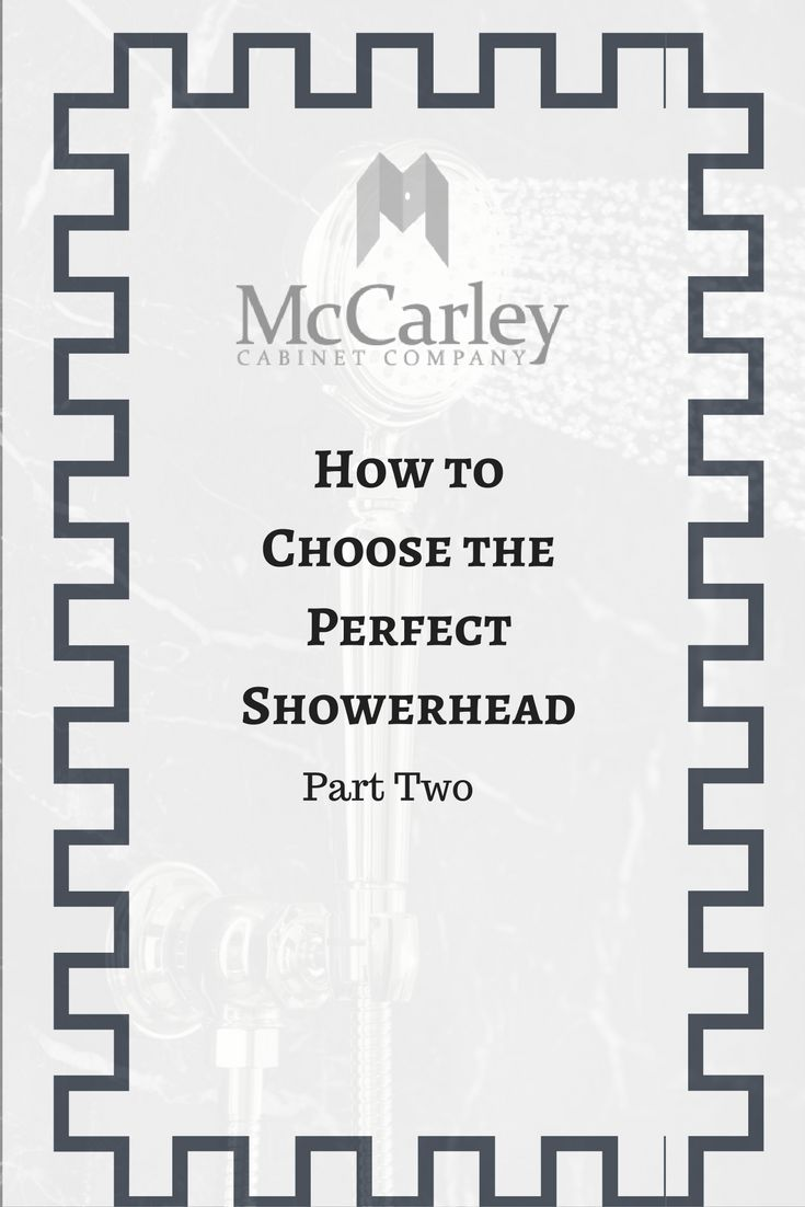 """In part one of our """"Choosing the Perfect Showerhead' series, we discussed factors and considerations to take in mind when selecting a new showerhead during a renovation or remodel. As we continue the series with part two, we will discuss the various types of showerheads and factors you should know when choosing the right type for your household. Check it out!"""