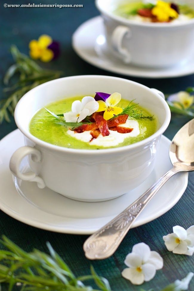 Crème Ninon is a French classic - quick, easy, and elegant soup that will impress your guests!