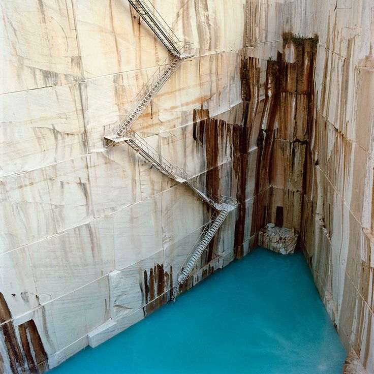 """""""Photos Make Rock Quarries Look Like Abstract Art. Tito Mouraz captures the strange beauty of industrial ravages"""" via http://www.fastcodesign.com/1669279/photos-make-rock-quarries-look-like-abstract-art"""