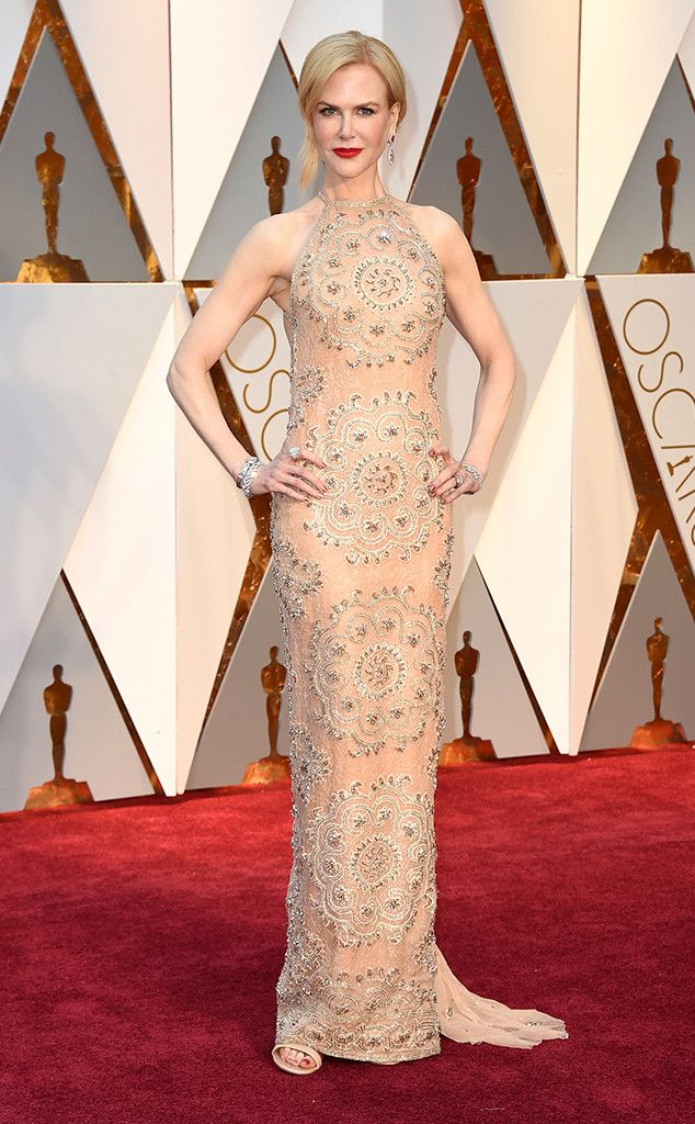 Nicole Kidman from Oscars 2017 Red Carpet Arrivals #oscars