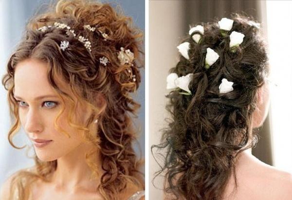 bride curly