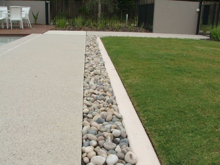 Eco Outdoor Concrete Pavers With Eggshell Pebbles In