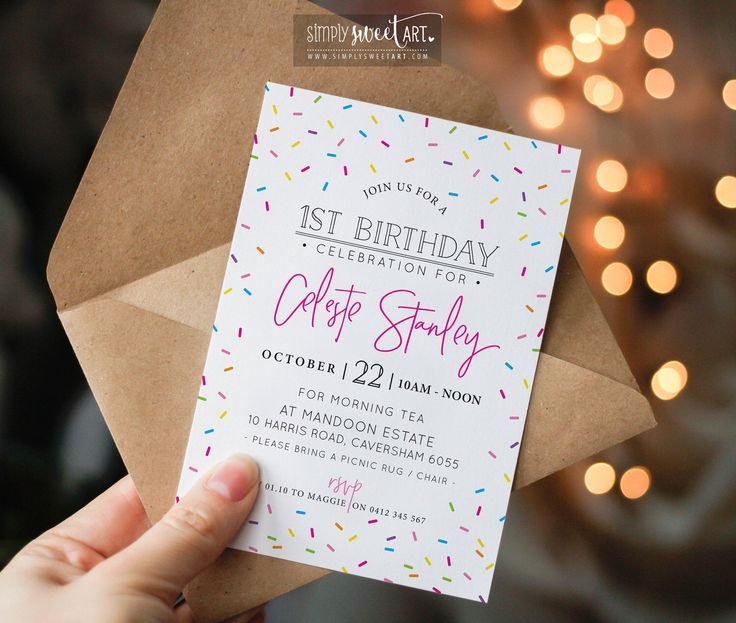 24 best logo images on pinterest digital birthday party invitation modern bright rainbow cute confetti sprinkles invite printable colourful 1st 2nd 3rd 4th 5th 6th 7th 8th fandeluxe Image collections