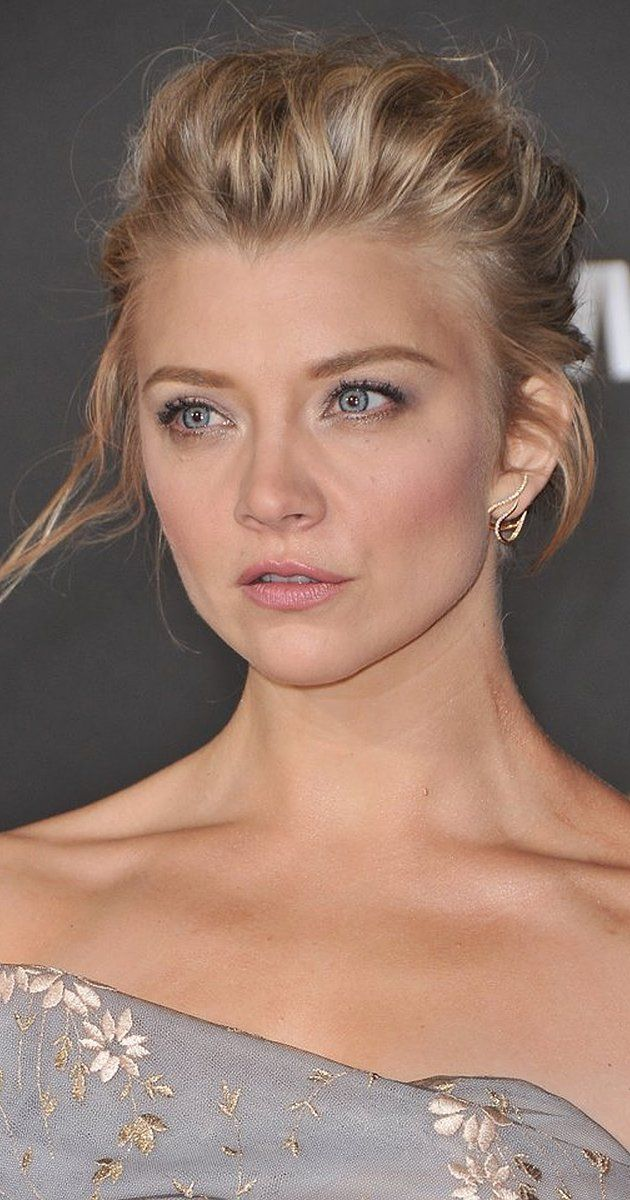 Natalie Dormer - possibly achievable hair goals. Sadly her beauty is *slightly* less achievable