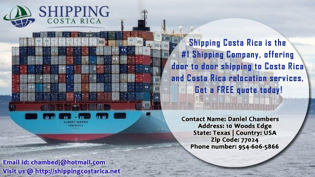 Shipping Costa Rica is the #1 Shipping Company, offering door to door shipping to Costa Rica and Costa Rica relocation services, Get a FREE quote today!