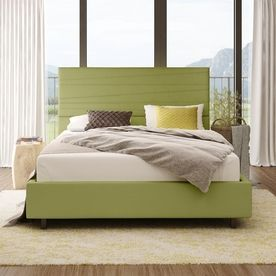 Amisco Prana Green Queen Upholstered Bed 14520-60Lc/37Hef4