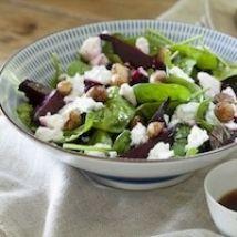 Beetroot and Macadamia Salad