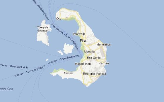 Santorini - Free Running Action - GTP Headlines