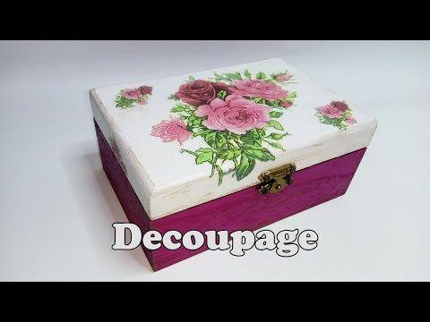Como decorar un baul en pincelada hogar tv por juan - Como decorar un baul de madera ...
