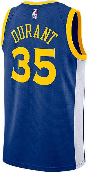 2254ac4e6 Nike Men s Golden State Warriors NBA Kevin Durant Icon Edition Connected  Jersey