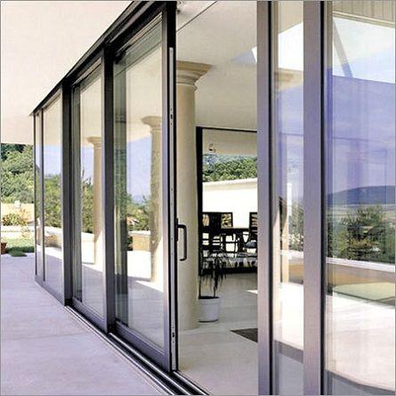 ... Sliding Glass Doors Exterior & Sliding Glass Doors Exterior With Nanawall Pocket Inside Decorating Pezcame.Com