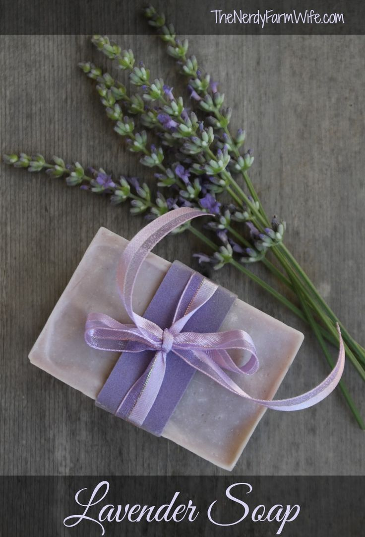 homemade lavender soap recipe (from scratch)                                                                                                                                                                                 More