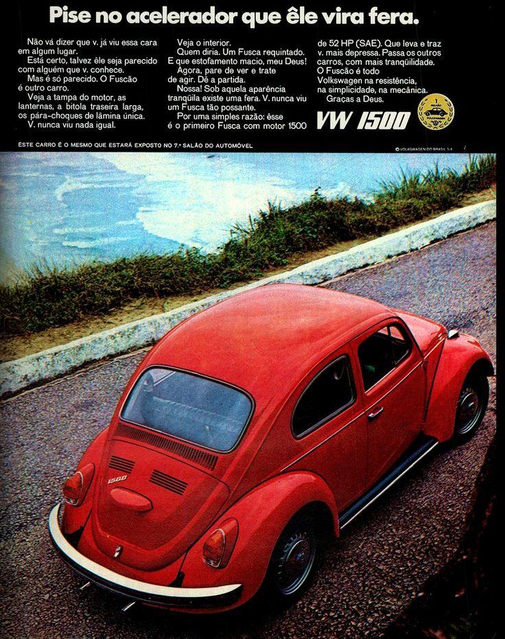 Anúncio Volkswagen 1500 - 1970