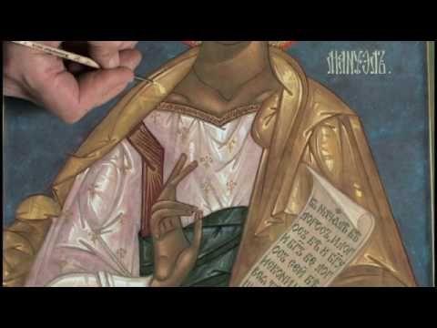 Lepota Icon Painting Studio and School - YouTube