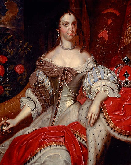 Catherine of Braganza, 1638 - 1705. Queen of Charles II, Jacob Huysmans