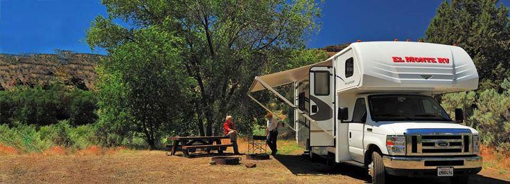take an RV road trip around the USA