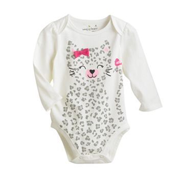 Jumping Beans® Cat Bodysuit - Baby