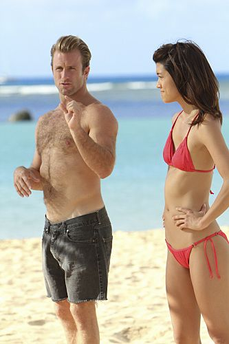 hawaii five o cast - Scott Caan and Grace Park