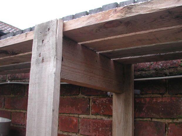 Picture of Pallet wood shelves,shelf