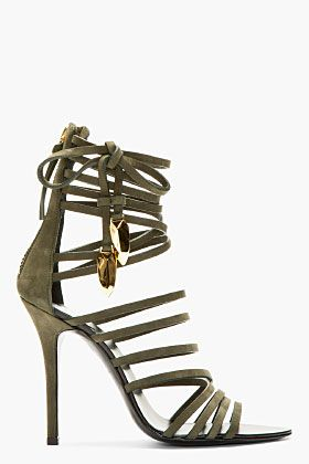 1000  ideas about Green Heeled Sandals on Pinterest  Low heel