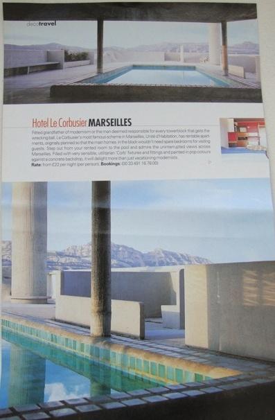 hotel le corbusier, Marseille France