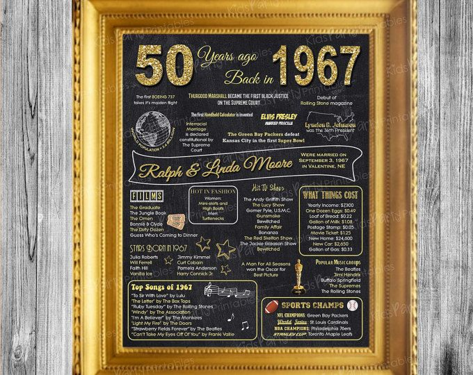 50 Year Wedding Anniversary Gift Ideas For Parents: Best 25+ 50th Anniversary Ideas On Pinterest