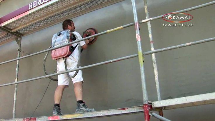 """ROKAMAT """"NAUTILO"""" - Plaster Finishing Machine / Spezialfilzmaschine [Ori..."""