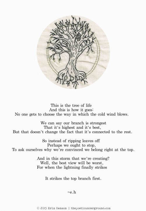 Tree of Life thepoeticunderground.com #poem #poetry #earthday