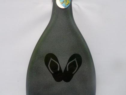 Jandals Bottle Art Wall Art/Platter